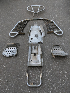 Raptor 660 aluminum protection