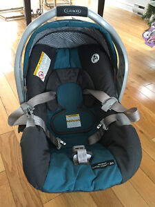 Coquille Graco + 2 bases pour auto
