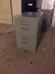 2 Drawer vertical filing cabinet