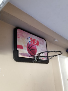 NBA Fiberglass Basketball Backboard and Hoop