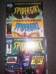 Comic books-8. low issue numbers.