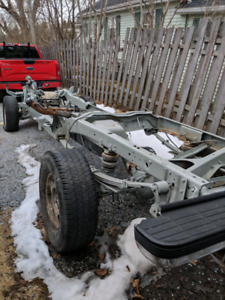 1994 chev k1500 extended cab rolling chassis
