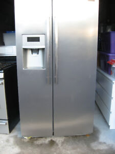 Stainless Steel Frigidaire Refrigerator with Ice Maker