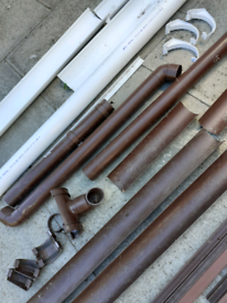 Guttering & downpipes, end caps brackets etc.