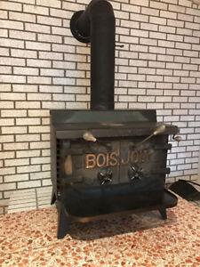 Poêle à bois à combustion lente BOIS JOLY slow combustion stove