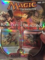 Magic the gathering Knights vs dragons duel deck, sealed