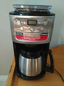 Cuisinart 12-Cup Burr Grind & Brew Coffee Maker
