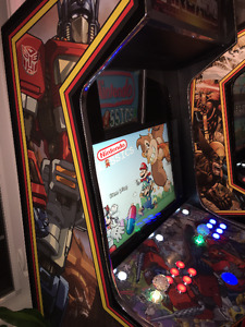Arcade | MAME | Transformers | Dual Monitor |  Live Marquee