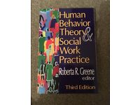 Human Behavior Theory & Social Work Practice Book - New