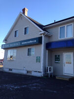 COMMERCIAL BUILDING WITH  THREE RENTAL.UNITS (NEW PRICE)