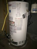 Natural gas water heater natural gas furnace