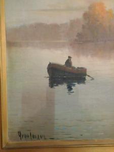 Muskoka oil painting
