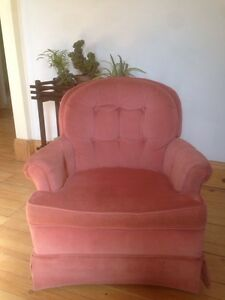 Vintage Rose Tub Chair