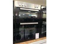 Beko built in double oven new graded 12 months gtee