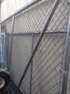 Chain Link Fence 8' high / Chain Link Gates 6' and 7' high