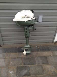 3 horse powered Johnson Outboard 1960s