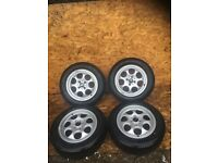 "MINI R56 ""15"" ALLOY WHEELS AND TYRES"