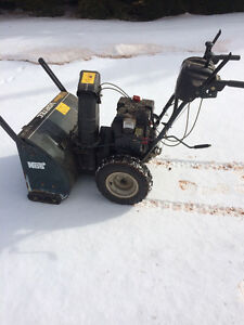 Yard works snowblower 10.5 hp