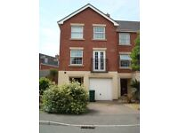 En-suite double room available to rent in lovely 3 storey townhouse (Available 1st March)