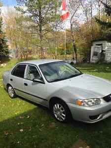 Great car for winter or all year around 2002 Toyota Corolla