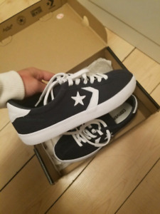 NEW 6.5 Navy Converse shoes