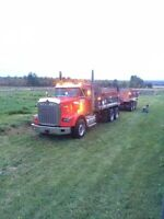 2007 Kenworth T800 and tri pup