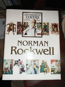 Norman Rockwell 332 Covers Coffee Table Book