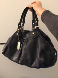 Marc by Marc Jacobs Classic Q Groovee Satchel (black leather)