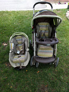 Graco stroller/car seat combo
