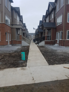 New Oshawa Townhouse Immediately for rent 1800 plus utilities