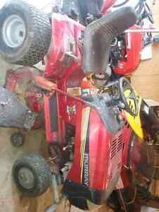14 hp 42inch cut riding mower great deal