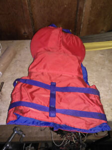 2X Child's life jacket. In near mint condition