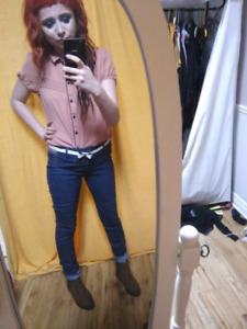 Womens forever 21 size 24 jeans