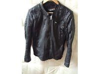 Men's lamb leather jacket, medium