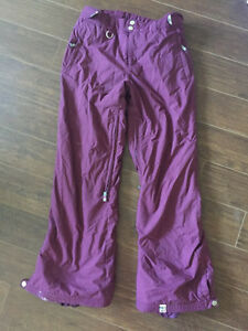 Purple Roxy snowboard/ ski snow pants