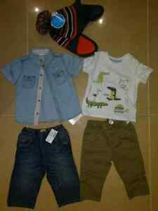 Brand New Baby Boy clothes size 6-9 mth Reg$ 72+tax