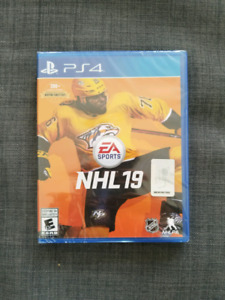 Brand New PS4 NHL 19