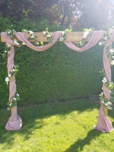Wedding or special occasion arch/ arche pour occasion