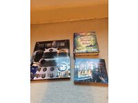 3 assorted kids books Dr Who, Boys & Christmas