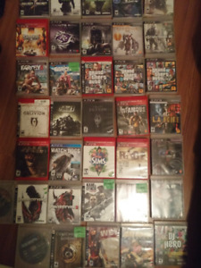 PS3 Game Collection - 41 games!