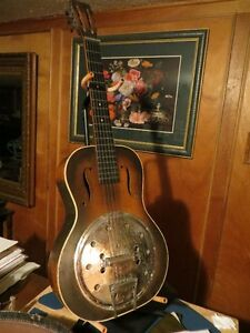 Dobro Regal National Gibson Fender Gretsch vintage Resonator