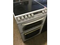 Creda Double Oven, white Electric Cooker With Ceramic Top