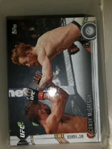 UFC trading cards