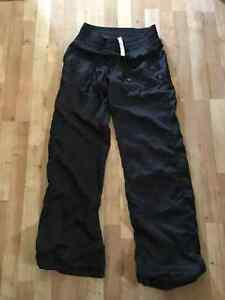 Lululemon lined studio pants