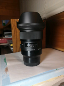 Fs: Sigma 24mm f1.4 lens for the Sony E-mount Full frame