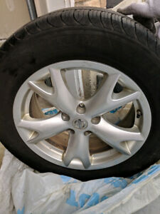 Barely used 225/60/R17 Tires