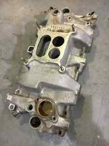 ALUMINUM INTAKE MANIFOLD FOR SMALL BLOCK L79