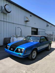 Foxbody Mustang Convertible