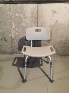 Bath Bench Transfer with Backrest