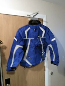 HJC SURVIVOR S14 SNOWMOBILE BEATHABLE JACKET BLUE